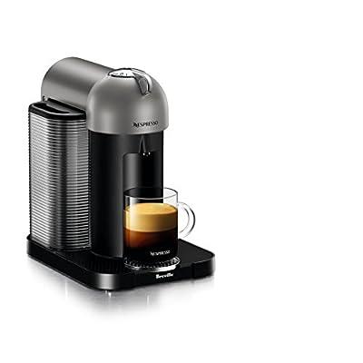 Nespresso GCA1-US-BK-NE VertuoLine Coffee and Espresso Maker, Black