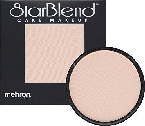 Mehron Makeup StarBlend Cake - EXTRA FAIR - 2OZ (Fair Cake)