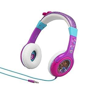 eKids Doc McStuffins Disney Junior Kid Friendly Volume Reduced Rockin Doc Youth Stereo Headphones
