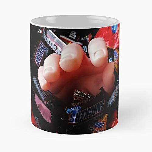 (Pumpkin Jack O Lantern Halloween Fall - Morning Coffee Mug Ceramic Novelty, Funny)