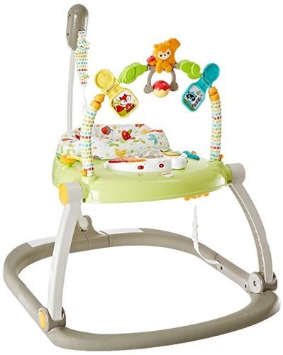 Fisher-Price Jumperoo - Fisher-Price Woodland Friends SpaceSaver Jumperoo