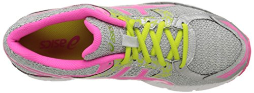 ASICS Damen GEL-Excite 3 Laufschuh Silber / Pink / Lime Punch