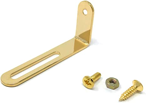 PICKGUARD PG BRACKET GOLD für GIBSON® 175 225 150 MOUNTING HARDWARE ARM ARCHTOP