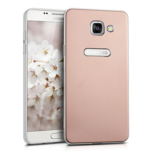 Back Case for Samsung Galaxy A5 2016 (Rose Gold) - 3