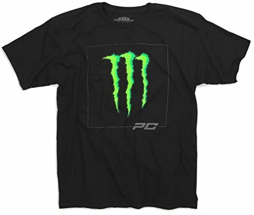 Pro Circuit Monster Energy D-Squared Short Sleeve T-Shirt Black Medium by Pro Circuit (Image #1)