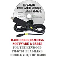 Kenwood TM-G707A/E Two-Way Radio Programming Software & Cable Kit
