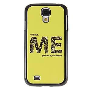 MOFY-ME Patr—n Espejo liso de nuevo caso duro con la pel'cula de alta definici—n de pantalla 3 piezas para Samsung Galaxy S4 i9500