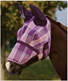 Kensington Fly Mask with Removable Nose Piece and Soft Ears
