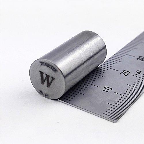 Pure Tungsten Metal Rod 99.95% 30g min. 10diameterx20mm length Element W ()