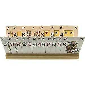 Brimtoy 2 Soportes de Madera para Cartas (35 cm) con ...