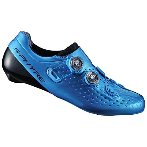 Shimano Scarpe strada S-Phyre RC9 SH-RC900SB blu misura 38,5 (Scarpe Strada)