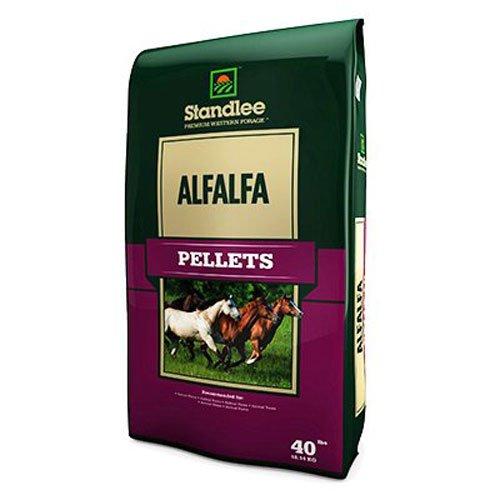 Standlee Hay Company 1175-30101-0-0 Premium Alfalfa Pellet, 40 lb, Red