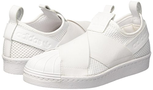 Da Slipon ftwwht Adidas Donna Superstar Basket W Bianco Scarpe ftwwht cblack wpwRIqf