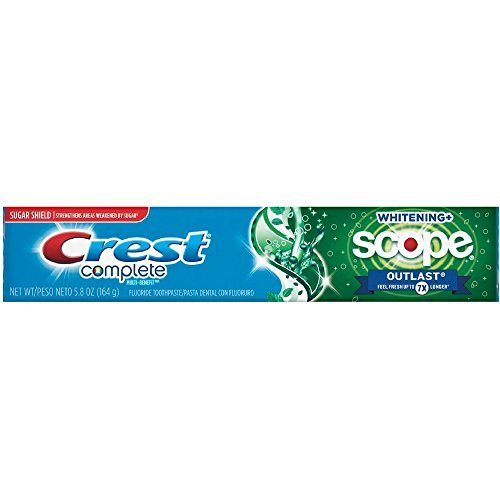 (Crest Complete Whitening Scope Outlast 5.8 oz ( Pack of 5))