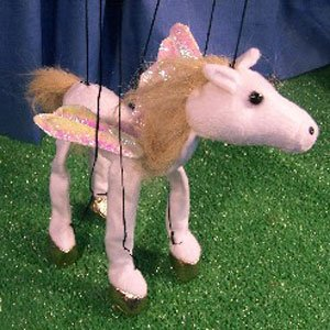 Sunny toys 16'' Baby Pegasus Marionette