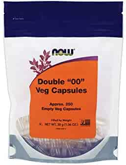 NOW Supplements, Empty Capsules, Vegetarian, Double