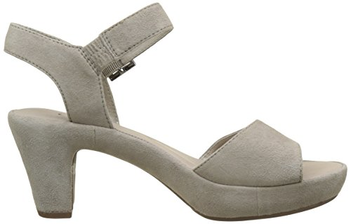 Gabor 65 de Strass tacón Mujer Shoes visoneohne Sandalias 751 53 Gris rRr4Tn