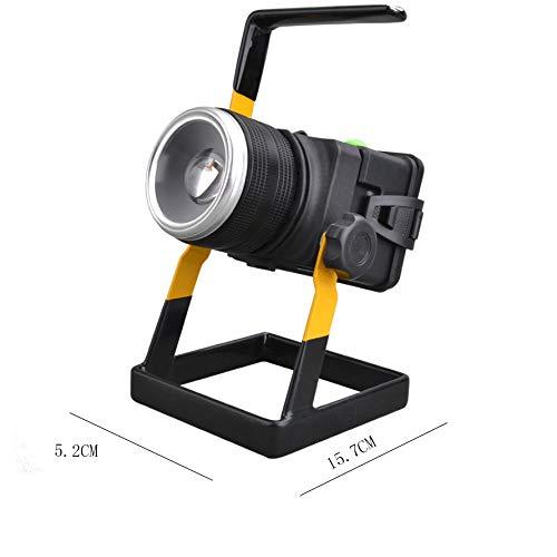 TYXZLF LED Fishing Light Glare high Power Dual Light Source Night Fishing Light for Camping Fishing Sports by TYXZLF (Image #4)