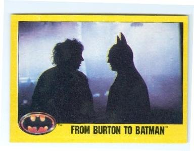 Batman cards 1989