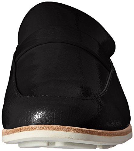 Women's Mule Slip Everett Black Loafer on Backless Gentle Patent Souls 605Oxq51