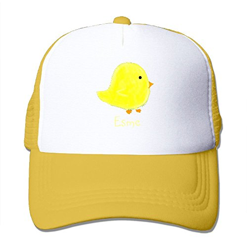 XiaoHans Men's Esme Baby Chick Shopping Beach Funny Baseball Yellow Mesh Hat Adjustable - Shopping Tacoma Center