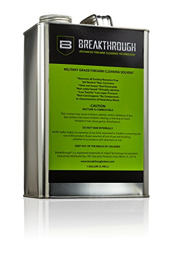 Buy Bargain Breakthrough Advanced Firearm Cleaning Technology Military-Grade Solvent, 1-Gallon