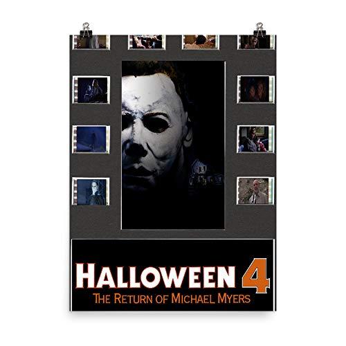 Halloween American Slasher Film Laurie Strode Michael Myers Karen Strode Vicky Poster Great Gift Men Women Girls Tv.Show ()