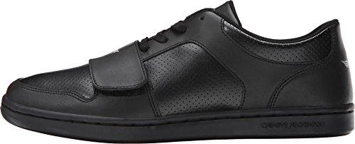 Creative Recreation Men's Cesario Lo Classic Sneaker,Black/Black,12 M US