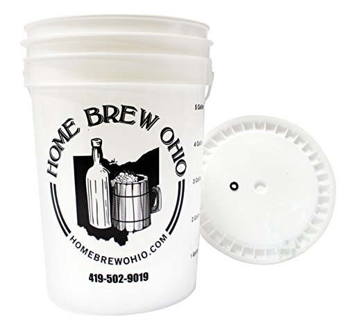 Home Brew Ohio B0156QTD0K FBA_Does Not Apply Complete Fermenting Bucket, Multicolor by Home Brew Ohio