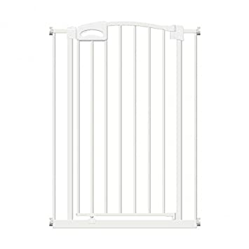 Callowesse Carusi Narrow Safety Gate Auto-Close 63-80cm 10cm Extension White