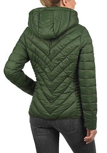 À Bag Duffle Doudoune Capuche Pour Matelassé Green Veste Blouson Blendshe Femme 77019 Sienna B0zwOqA0xv