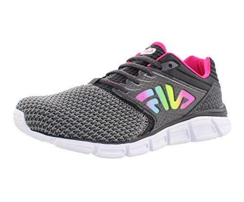 - Fila Women's Memory MULTISWIFT 4 Running Shoe, Monument/Dark Shadow/Multi, 9 Medium US