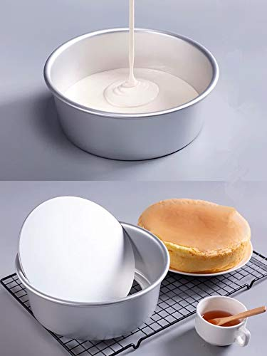 Cake Pans Aluminium Alloy Carbon Steel Removable Bottom Cake Pans Round Heart Square Cake
