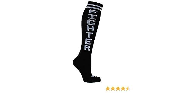 e8a729fbd73 Amazon.com  The Sox Box Fighter Socks! - Black  Clothing