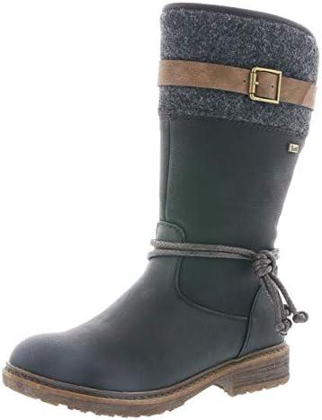 Rieker Femme Bottes, Boots 94778, Dame Bottes d'hiver,riekerTEX