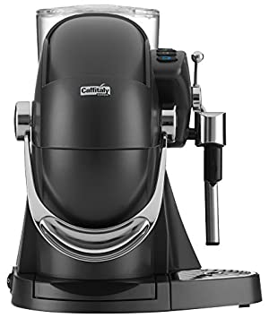 Caffitaly Nautilus S06HS Carbon Independiente Semi-automática Máquina de café en cápsulas 1.2L Negro