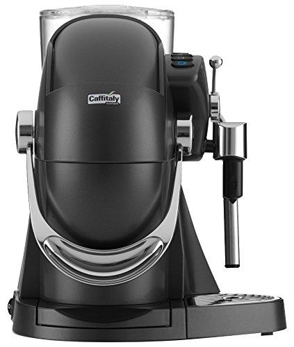 Caffitaly Nautilus S06HS Carbon Independiente Máquina de café en cápsulas 1,2 L Semi-automática - Cafetera (Independiente, Máquina de café en ...