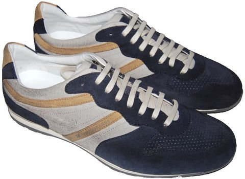 Hugo Boss Orlero, Sneaker uomo Blu (Blu)