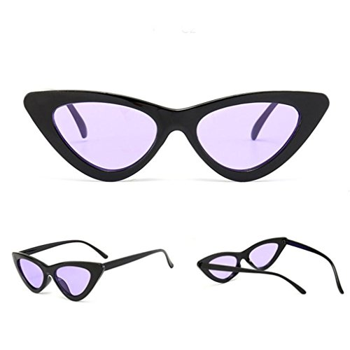 543dfb62139dfd Petites Lunettes De Soleil En Yeux De Chat Pointues,OverDose Femme Intégré  UV Mode Sunglasses