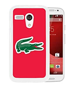 Newest And Fashionable Motorola Moto G Case Designed With Lacoste 4 White Motorola Moto G Screen Cover High Quality Cover Case