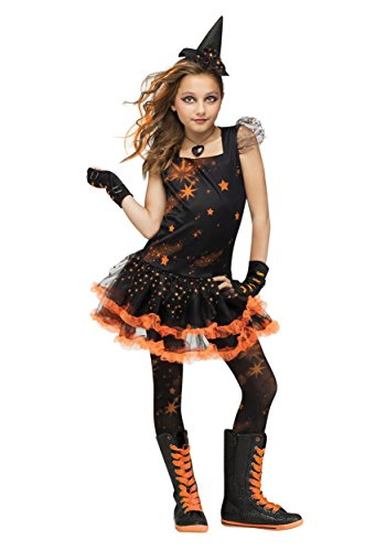 [Sparkle Star Witch Kids Costume] (Salem Witches Costumes)