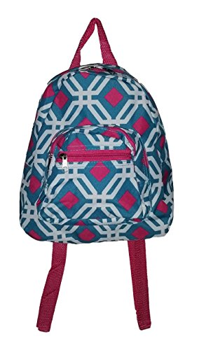 Backpack Purse 11 inch Zipper Pockets