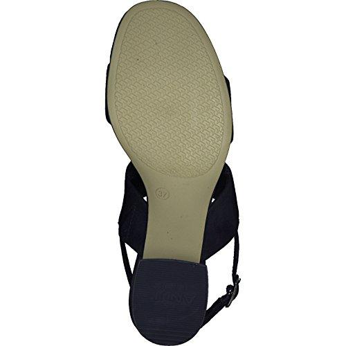 1 28026 Bleu Sandale Tamaris Marine 30 Femmes 5dwqq8ZX