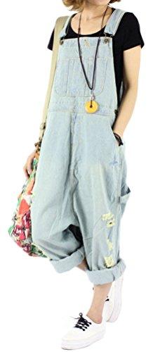 Soojun Womens Fashion Casual Overalls