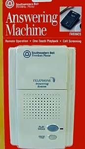 microcassette answering machine