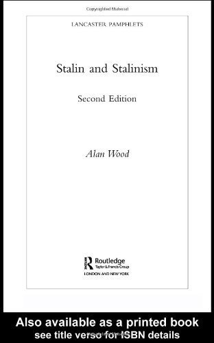 Download Hitler/Stalin Palgrave Macmillan Sales Bundle: Stalin and Stalinism (Lancaster Pamphlets) 2nd Edition by Wood, Alan published by Routledge pdf epub