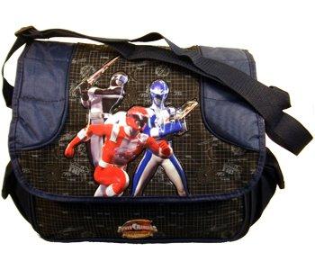 Power Ranger Operation Overdrive Messenger Bag (Blue Trim) - Boys Laptop Bag