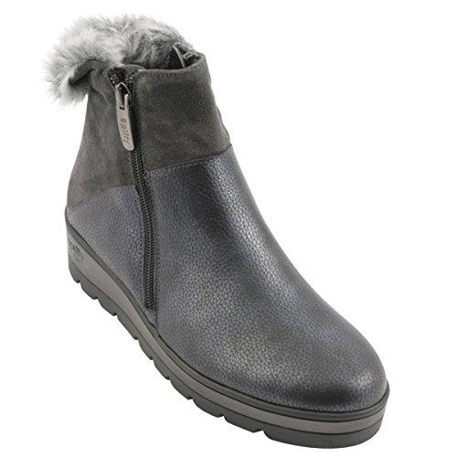 Exclusif Paris Women's Boots Dark Grey JLF6J