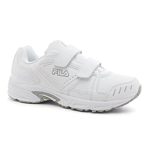 Fila Mens Talon 2 Strap Sneakers Da Ginnastica Bianche, Bianche, Vita Alta