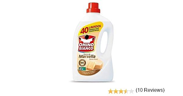 Omino Bianco - Detergente liquido Cuore de Marsella - 2000 ml ...